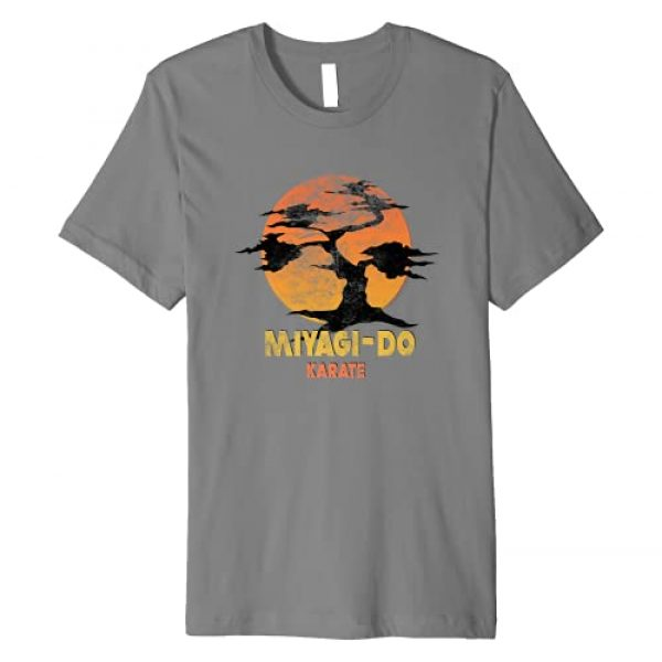 Karate Kid Graphic Tshirt 1 The Karate Kid Miyagi-Do Premium T-Shirt