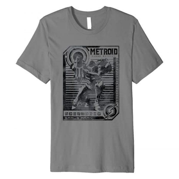 Nintendo Graphic Tshirt 1 Metroid Samus Distressed Poster Premium T-Shirt