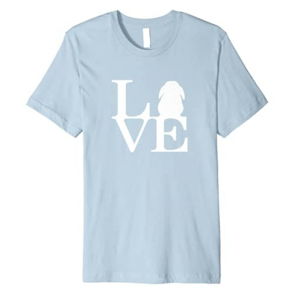 SS Bunny Imports Graphic Tshirt 1 Lop Rabbit Lover, I Love Bunnies Graphic Tee Shirt