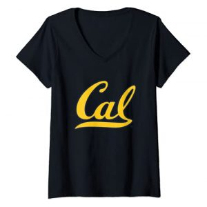 Venley Graphic Tshirt 1 Womens California Berkeley Bears CAL NCAA PPCAL03 V-Neck T-Shirt