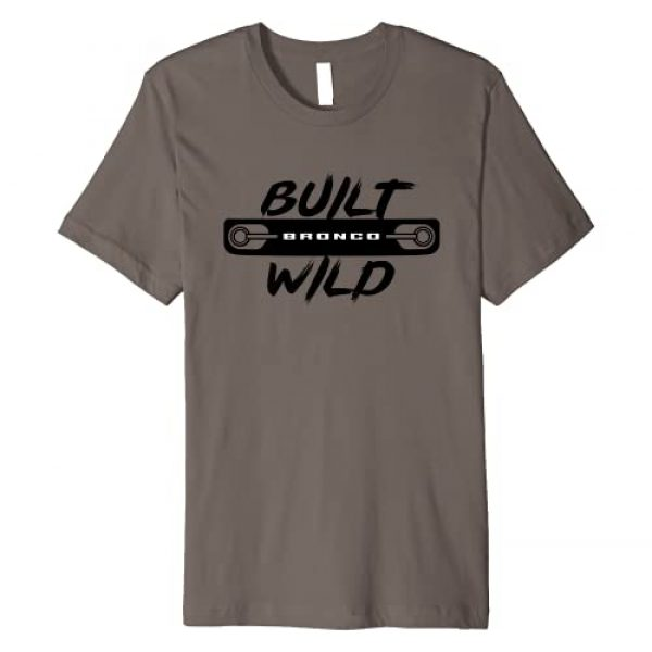 Ford Bronco Graphic Tshirt 1 Built Wild Front Grill Premium T-Shirt