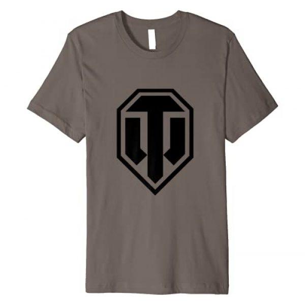 World of Tanks Graphic Tshirt 1 Big Black Logo T-shirt Premium T-Shirt