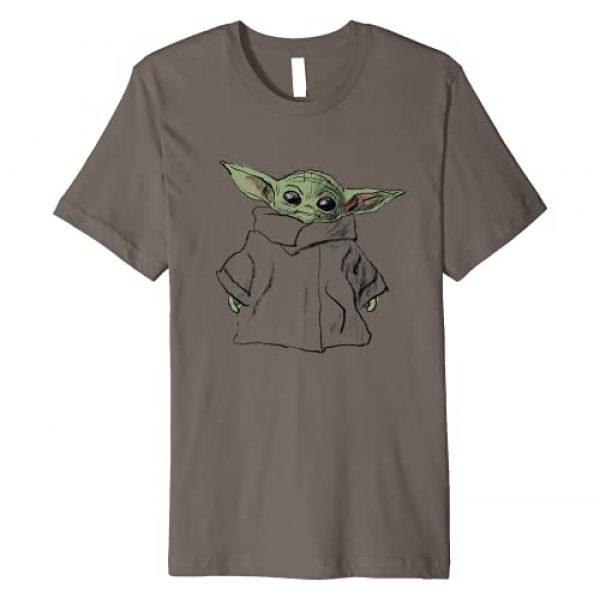 Star Wars Graphic Tshirt 1 The Mandalorian The Child Illustration Premium T-Shirt
