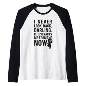 Disney Graphic Tshirt 1 Pixar The Incredibles Edna Never Look Back Raglan Baseball Tee