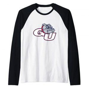 Venley Graphic Tshirt 1 Gonzaga University Bulldogs NCAA PPGON02 Raglan Baseball Tee