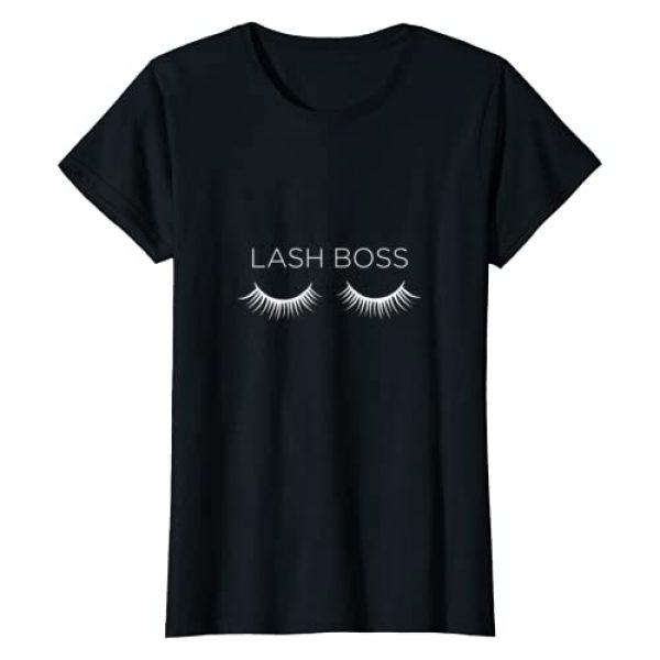 Mothership Graphic Tshirt 1 Womens Lash Boss Extentionist Eyelash Artist T-Shirt