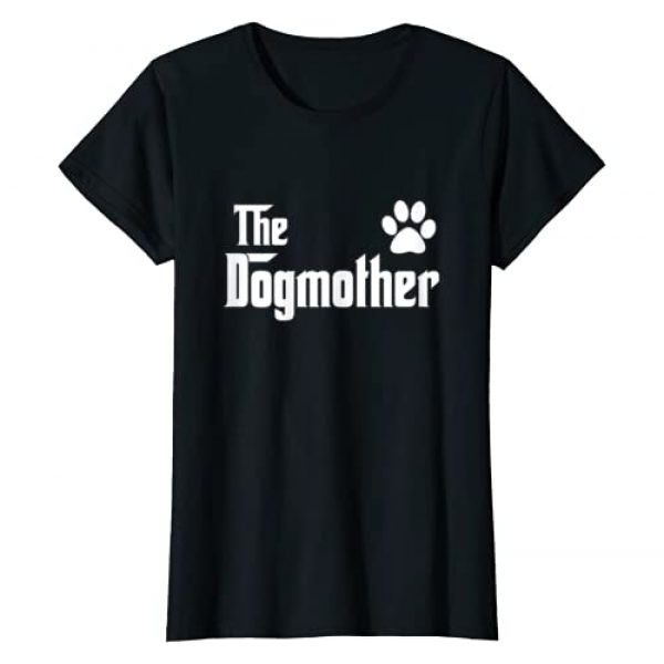 Dog Mom Graphic Tshirt 1 The DogMother Dog Mom Gift for mother of dogs Dog gifts mom T-Shirt