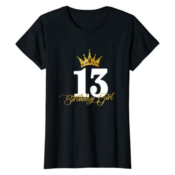 13th Birthday Gift for Womens - 13 years old Graphic Tshirt 1 13th Birthday Funny 13 years old Gift for Womens Girls T-Shirt