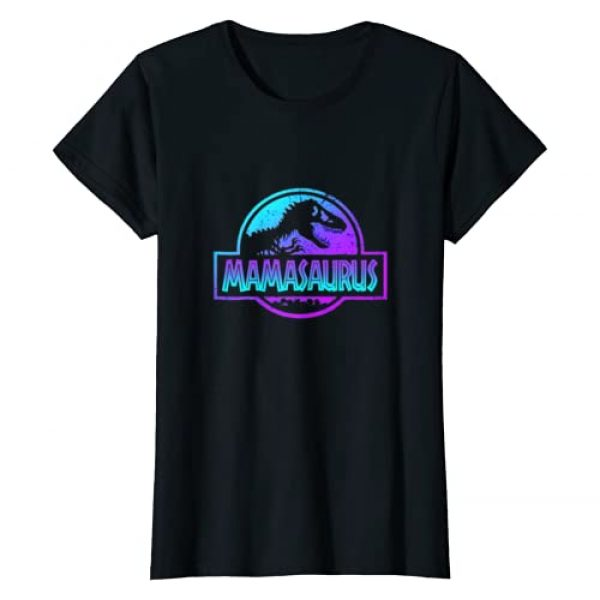 Gift For Dinosaur Family T-Shirt Co. Graphic Tshirt 1 Womens Mamasaurus Dinosaur Tshirt Rex Mother Day For Mom Gift T-Shirt