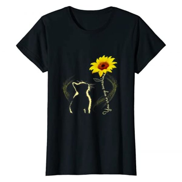 Cat Lover Gift for Girls Woman Graphic Tshirt 1 Womens Cat Lover - You Are My Sunshine T-Shirt Cats Tee Shirt Gifts T-Shirt