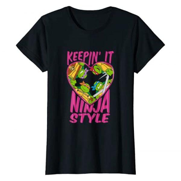 Nickelodeon Graphic Tshirt 1 Teenage Mutant Ninja Turtles Keepin' It Ninja Style T-Shirt