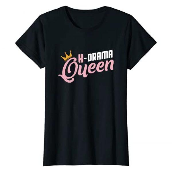 Kpop Fan Saranghae Korea KDrama Tee Graphic Tshirt 1 K-Drama Queen Seoul Hallyu Hangul Hanguk Television Kdrama T-Shirt