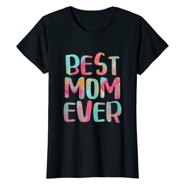 Best Music Posters Graphic Tshirt 1 Womens Best Mom Ever T-Shirt Mother's Day Gift Shirt T-Shirt