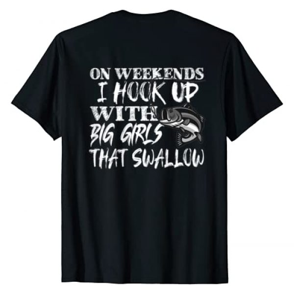 Funny Fishing Shirts For Men And Women Graphic Tshirt 1 Funny Quote Fishing Shirt Printed On Back