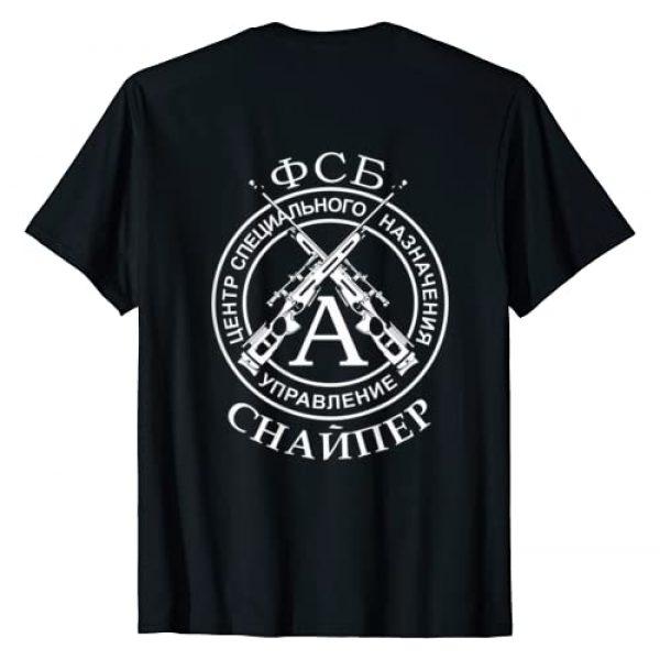 mechaproject Graphic Tshirt 2 Russia FSB Spetsnaz Alpha Group Sniper T-shirt