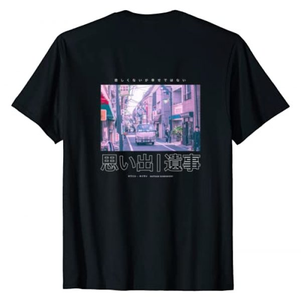 Nathan Kawanishi (Back Prints) Graphic Tshirt 1 90's Lofi Tokyo City Japanese Streetwear Aesthetic Graphic T-Shirt
