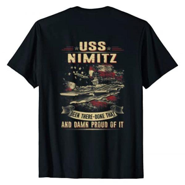 2019 Navy USS Graphic Tshirt 1 USS Nimitz (CVN-68) T-Shirt