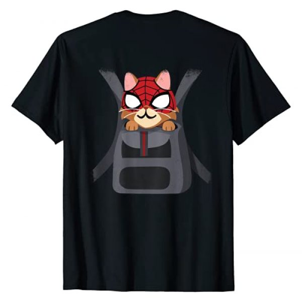 Marvel Graphic Tshirt 2 Spider-Man Miles Morales Game Spider-Cat Backpack T-Shirt