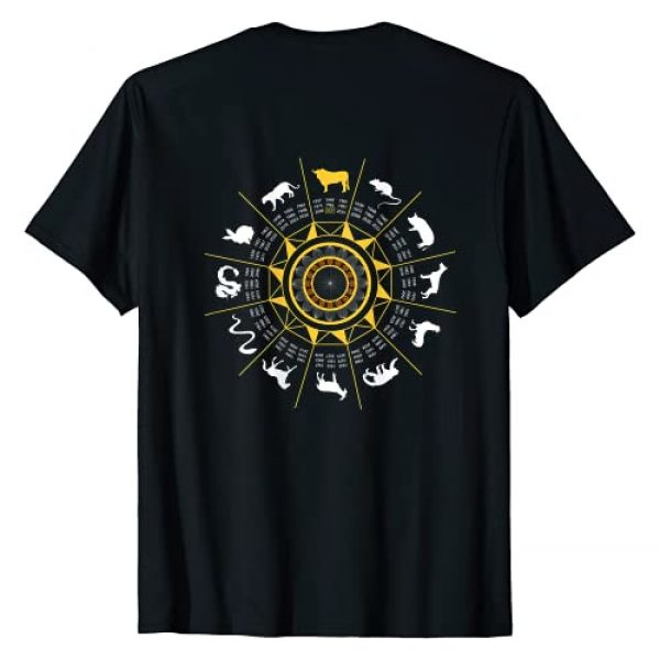 Chinese Year of the Ox 2021 Graphic Tshirt 2 Year of the Ox - Chinese NEW YEAR 2021 (On back) T-Shirt