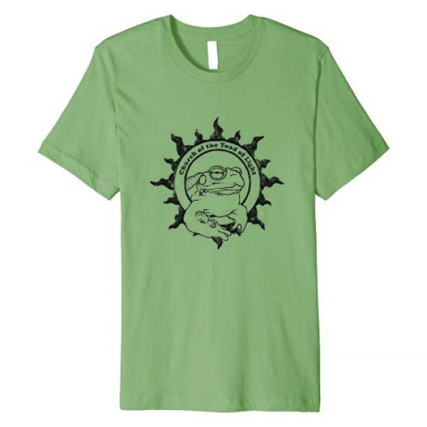 Church of the Toad of Light Graphic Tshirt 1 Authentic CHURCH OF THE TOAD OF LIGHT Psychedelic Frog Logo Premium T-Shirt