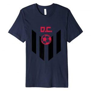 D.C. Soccer Jersey Style United Football Fan FC DC Graphic Tshirt 1 DC Soccer Jersey Style United Football Men Women Kids D.C Premium T-Shirt