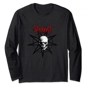 Slipknot Graphic Tshirt 1 Star Skull Long Sleeve Tee Long Sleeve T-Shirt