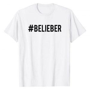 Justin Bieber Graphic Tshirt 1 Official #Belieber Hashtag T-Shirt
