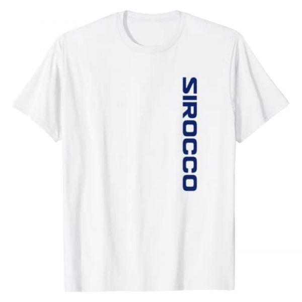 Sirocco Captain Below Shirts Ink Graphic Tshirt 1 Sirocco below the deck shirt Updated with Boat on Back Side T-Shirt
