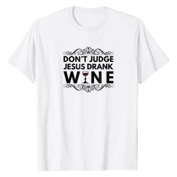 Splendid Graphic Tshirt 1 Street Tees Don't Judge Jesus Drank Wine T-Shirt