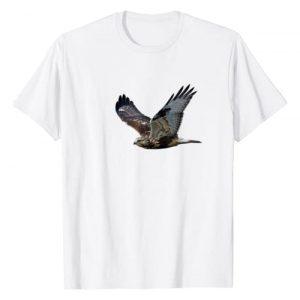 Hawk bird design Graphic Tshirt 1 Hawk bird t-shirt - for bird watchers