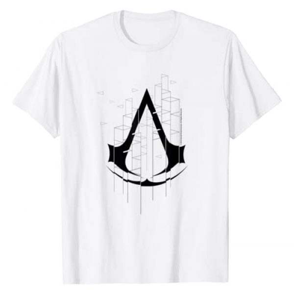 Ubisoft Graphic Tshirt 1 Assassin's Creed Logo T-Shirt