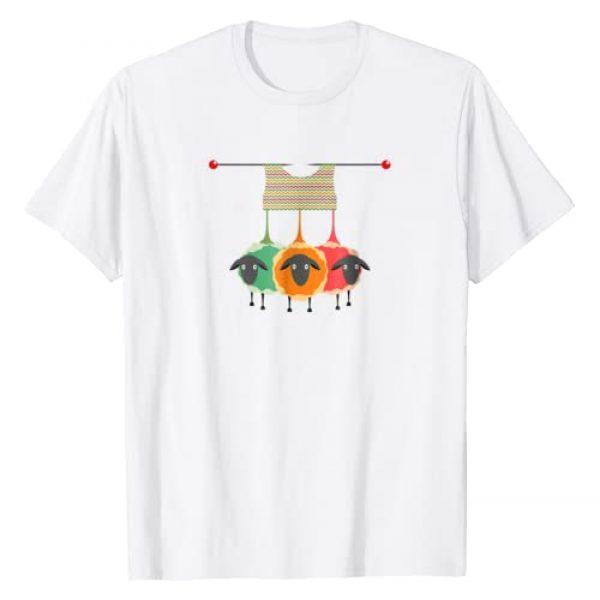Eventyr Funny Knitting Knitters Yarn Gift Tees Graphic Tshirt 1 Funny Knitting Knitters Yarn Gift Idea T-Shirt