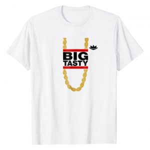 "Vertigo Creative Products Graphic Tshirt 1 ""Big Tasty"" - Barry Goldbergs Alter-Ego - Retro 80's T-Shirt"