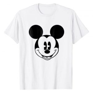 Disney Graphic Tshirt 1 Mickey Mouse Smiling face Classic Graphic T-Shirt