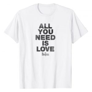 The Beatles Graphic Tshirt 1 All You Need T-Shirt