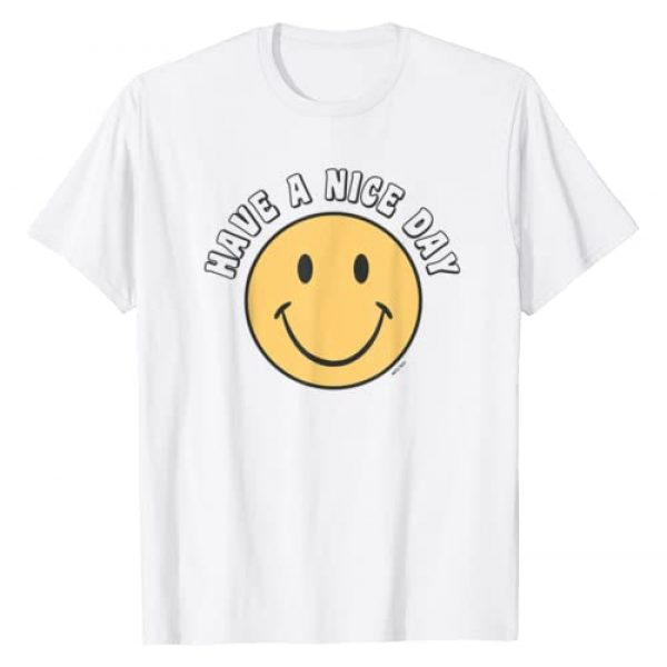 Happy Face Retro 70's Tops Graphic Tshirt 1 Retro - Have A Nice Day - Smile Happy Face T-Shirt