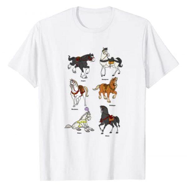 Disney Graphic Tshirt 1 Princess Horses T-Shirt