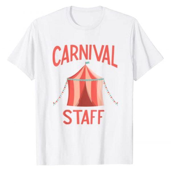 Circus Costume Co. Inc Graphic Tshirt 1 Carnival Birthday Shirt - Carnival Staff T-Shirt