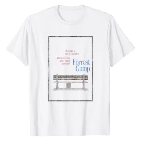 Forrest Gump Graphic Tshirt 1 Box of Chocolates T-Shirt