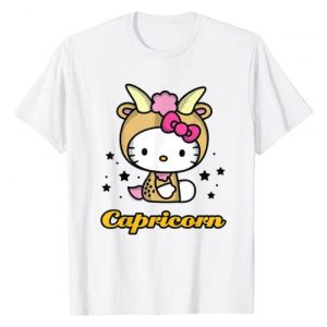 Hello Kitty Graphic Tshirt 1 Zodiac Capricorn Tee Shirt