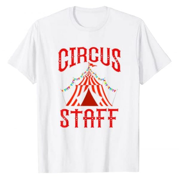 Circus Costume Co. Inc Graphic Tshirt 1 Vintage Circus Themed Birthday Party T Shirt - Circus Staff T-Shirt
