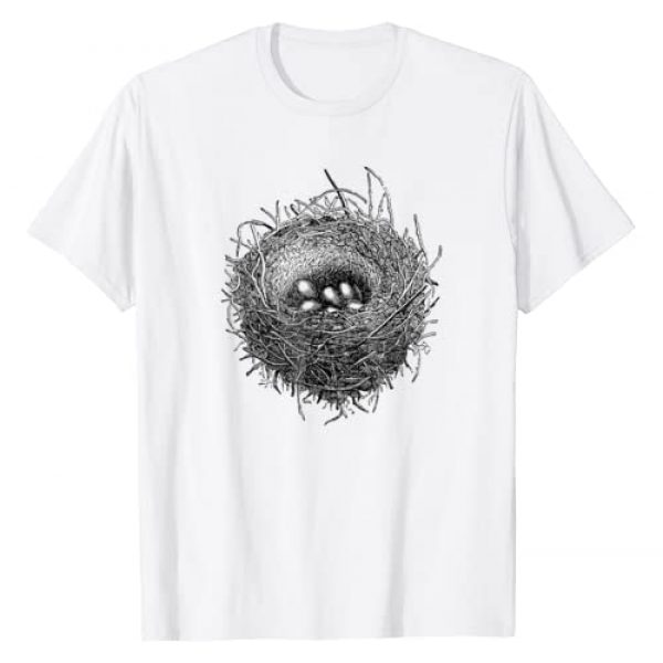 Mintage Graphic Tshirt 1 Birds Nest Fine Jersey T-Shirt
