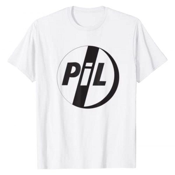 Public Image Ltd. Graphic Tshirt 1 PiL Official Public Image Ltd Black Logo T-Shirt T-Shirt