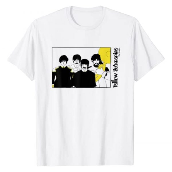 The Beatles Graphic Tshirt 1 Yellow Tuba T-shirt