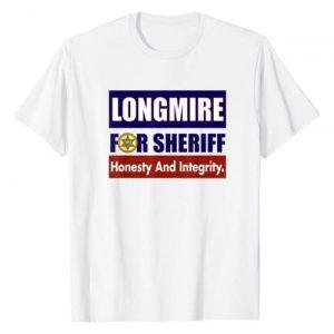 Warner Bros. Graphic Tshirt 1 Longmire for Sheriff T-Shirt