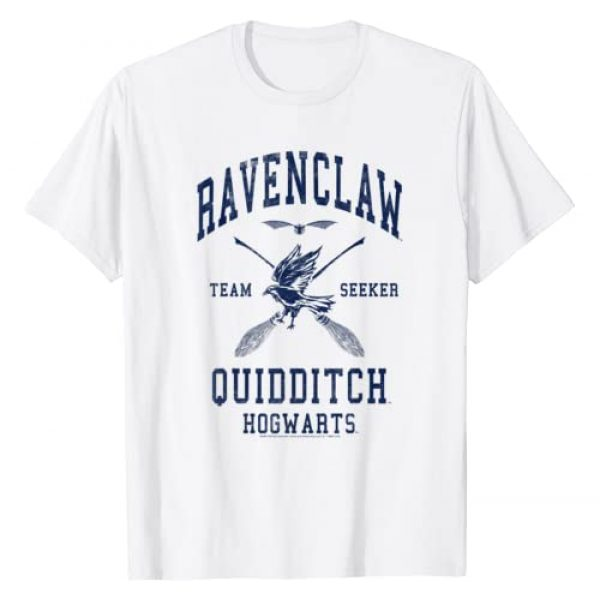 Harry Potter Graphic Tshirt 1 Ravenclaw Quidditch Team Seeker T-Shirt