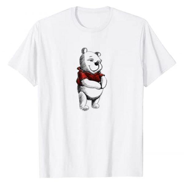 Disney Graphic Tshirt 1 Sketch of Winnie the Pooh T-Shirt