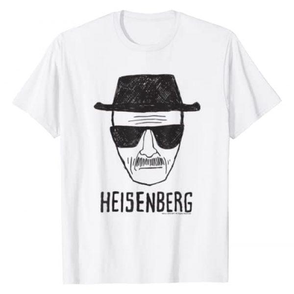Breaking Bad Graphic Tshirt 1 Heisenberg Head Shot Sketch T-Shirt