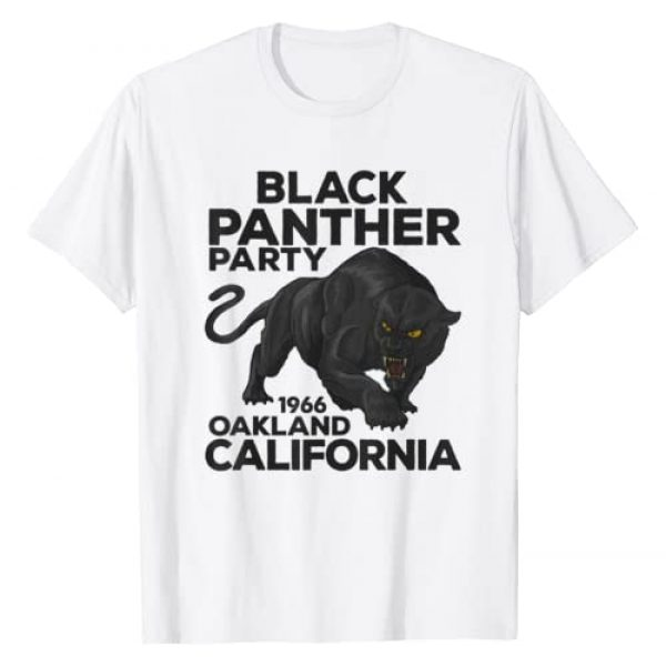 Black Panther Party Tshirt Graphic Tshirt 1 Black Panther Party 1966 Oakland California T-shirt T-Shirt
