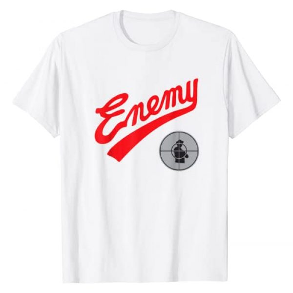 Public Enemy Graphic Tshirt 1 Official Enemy Target T-Shirt